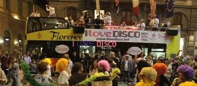 i love disco bus corrier fiorentino