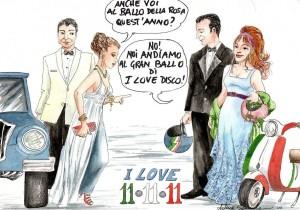 11.11.11.. Noi andiamo al Gran Ballo, e voi?